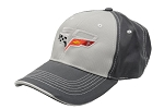 C6 Corvette 2005-2013 60th Anniversary Two-Tone Cap