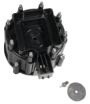 C3 C4 Corvette 1975-1984 HEI Distributor Cap - Black