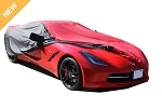 C5 Corvette 1997-2004 Covercraft WeatherShield Outdoor Red Car Cover - Coupe