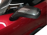 C7 Corvette Stingray/Z06/Grand Sport 2014+ Carbon Fiber Side View Mirror Covers
