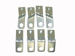 C2 Corvette 1964-1967 Spark Plug Shield Brackets - 8pc Set
