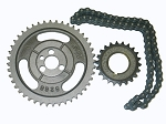C2 Corvette 1963-1967 Timing Chain & Gears Double Roller Set