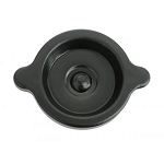 C2 Corvette 1965-1967 Oil Filler Cap - Black - 396 / 427 Twist-On w/ S Head Mark