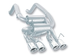 C6 Corvette 2005-2013 Borla Axle Back Exhaust System - S Type