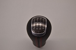 C7 Corvette Stingray 2014+ GM OEM Manual Leather Shift Knob w/ Red Stitching