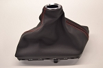 C7 Corvette Stingray 2014+ GM OEM Manual Leather Shift Boot W/ Red Stitching