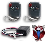 C6 Corvette 2005-2013 NPP Exhaust Rebel Exhaust Controller Remote Version
