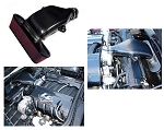 C6 Corvette 2005-2013 LS7 LG Carbon Fiber Kit Radiator Cover & Fuel Rail & Cold Air
