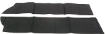 C4 Corvette 1986-1996 Convertible Top Bow Stay Pads