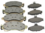 C4 Corvette 1984-1996 Semi-Metallic Brake Pads Set