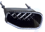 C6 Corvette ZR1 2009-2013 Hydro Carbon Fiber Front Fender Ducts - 4 Pcs