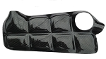 C6 Corvette 2005-2013 Synthetic Black Carbon Fiber Coolant Tank Cover