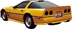 C4 Corvette 1984-1990 ACI Motorsports GTO Body Kit w/ Wing - 7pc Kit