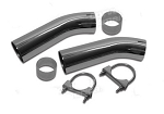 C3 Corvette 1974-1982 Curved Exhaust Extensions