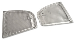 C3 Corvette 1970-1971 Clear Parking Light Lens