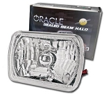 C4 Corvette 1984-1996 Oracle Sealed Beam SMD Halo Headlight Assembly - Pair