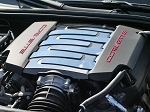 C7 Corvette Stingray/Grand Sport 2014+ Stainless Steel Plenum Cover Kit