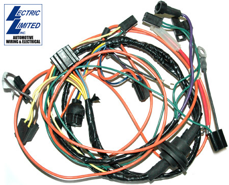 cm_9670 c3 corvette 1968 1979 ac harness w heater wiring kit corvette mods c3 corvette wiring harness at soozxer.org