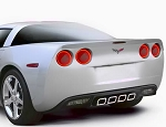 C6 Corvette 2005-2013 Corvette Oracle Tail Light Halo Kit