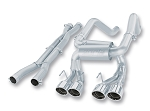 C6 Corvette 2006-2011 Z06 / ZR1 Borla Cat Back Exhaust System - S Type