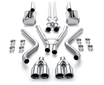 C6 Corvette 2005-2013 MagnaFlow Street Series Cat Back Exhaust System