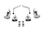 C6 Corvette 2005-2008 MagnaFlow Street Series Axle Back Exhaust System
