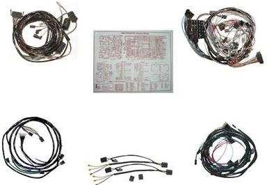 1965 Corvette Wiring Harness - daily update wiring diagram on 1965 mustang wiring harness diagram, 1965 mustang wire harness, 1965 mustang front suspension conversion,