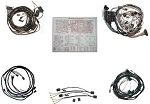 C2 Corvette 1965 Convertible Wire Harness Kit - Manual w/ or w/o Backup Light & Deluxe Kit Options