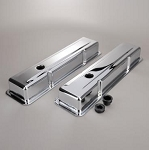 C2 C3 Corvette 1963-1982 Small Block Chrome Valve Covers