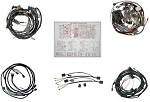 C2 Corvette 1964 Coupe Main Lamp Wire Harness Kit w/ Backup Lights - Deluxe Kit Option