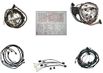 C2 Corvette 1965 Coupe Wire Harness Kit - Manual w/ or w/o Backup Lights & Deluxe Kit Options