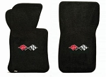 C2 Corvette 1963-1967 Lloyds Ultimat Front Floor Mats - Single Logo