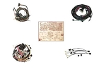 C2 Corvette 1966-1967 All Wire Harness Kit - Deluxe Kit & Year Options