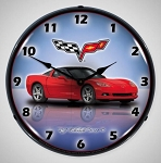 C6 Corvette 2005-2013 Custom Lighted Clock