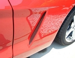C6 Corvette 2005-2013 Custom Painted Side Vent Grilles