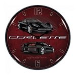 C7 Corvette 2014-2019 Stingray Lighted Clock - Color Options