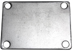 Bolt-On QTEC Low Profile Exhaust Cover Plate
