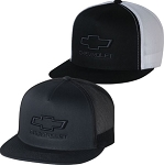 Chevrolet Flatbill Mesh-Back Cap - 2 Color Options