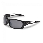 C7 Corvette 2014-2019 Gloss Black Full Frame Sunglasses w/ Crossed Flags Logo