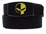 Corvette Racing Custom Fit Jake Skull Belt - Style Option