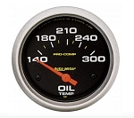AutoMeter Pro-Comp 2-5/8 inch Oil Temperature Gauge, 140-300 deg F