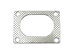 Bolt-On QTP Low Profile 4 Bolt Oval Exhaust Gasket