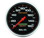 AutoMeter Pro-Comp 3-3/8 inch 160 MPH Electric Speedometer w/ LCD Odometer