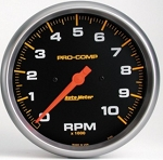AutoMeter Pro-Comp 4-5/8 inch In-Dash 10000 RPM Tachometer