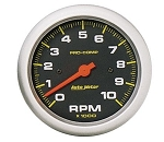 AutoMeter Pro-Comp 3-3/8 inch In-Dash Tachometer, 10000 RPM