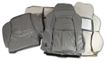 C4 Corvette 1994-1996 Stitched Leather Seat Cover Replacements - Color Options