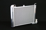 C2 C3 Corvette 1963-1972 DeWitts Direct Fit Pro Series Aluminum 2 Row Radiator - Small Block - 1in Tube