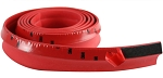 Rubber/Foam Lip Guard - 100 Inch - 3 Color Options - Red/White/Blue
