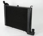 C2 Corvette 1965-1967 DeWitts Pro Series Direct Fit Dual Row Radiator w/ Black Ice Coating - Big Block