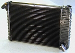 C2 Corvette 1966-1967 DeWitts Copper / Brass Reproduction Radiator - Big Block Only
